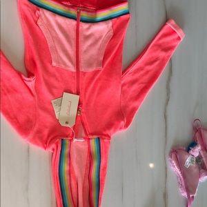 Billieblush Girls Zip-Up Lightweight